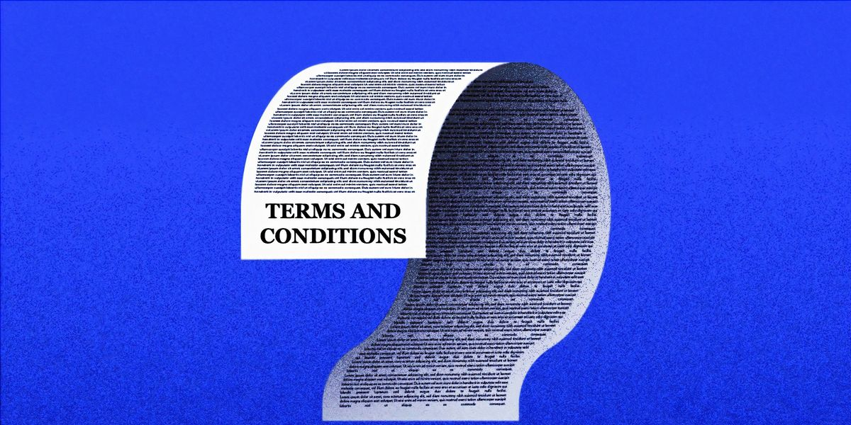 People Share The Strangest Things They've Ever Seen In A Contract's Terms And Conditions