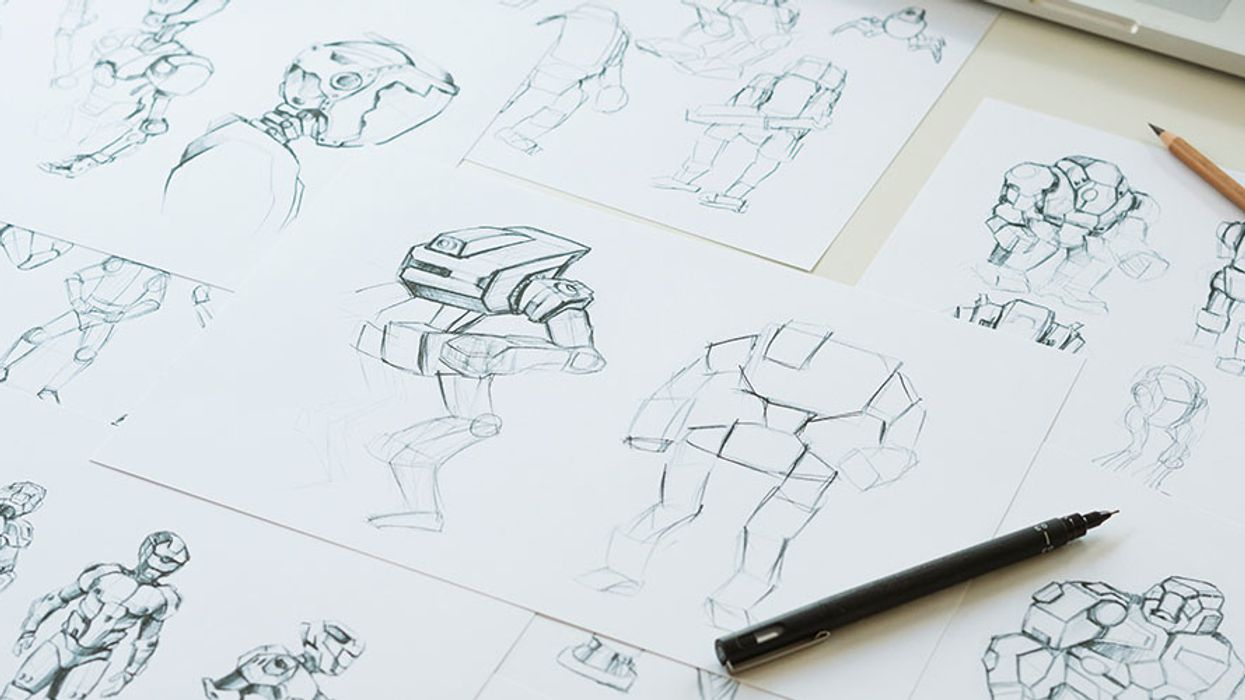 Relieve stress through art with the help of these drawing courses