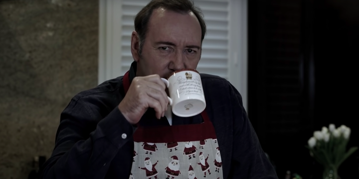 This Haunts Me: Kevin Spacey's Bizarre Christmas Video Is Good Art