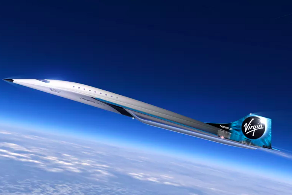 Virgin Galactic uses space tech to create new supersonic jet