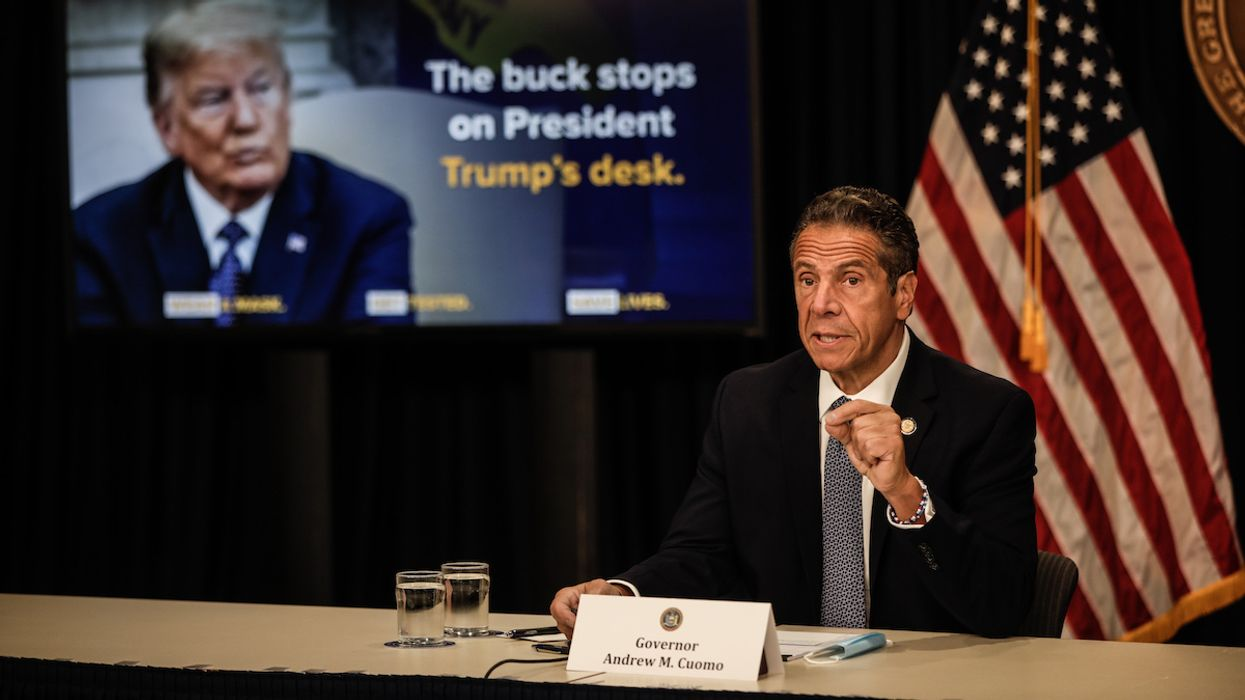 Cuomo Blasts Trump's COVID-19 Response as 'Worst Government Blunder in Modern History'
