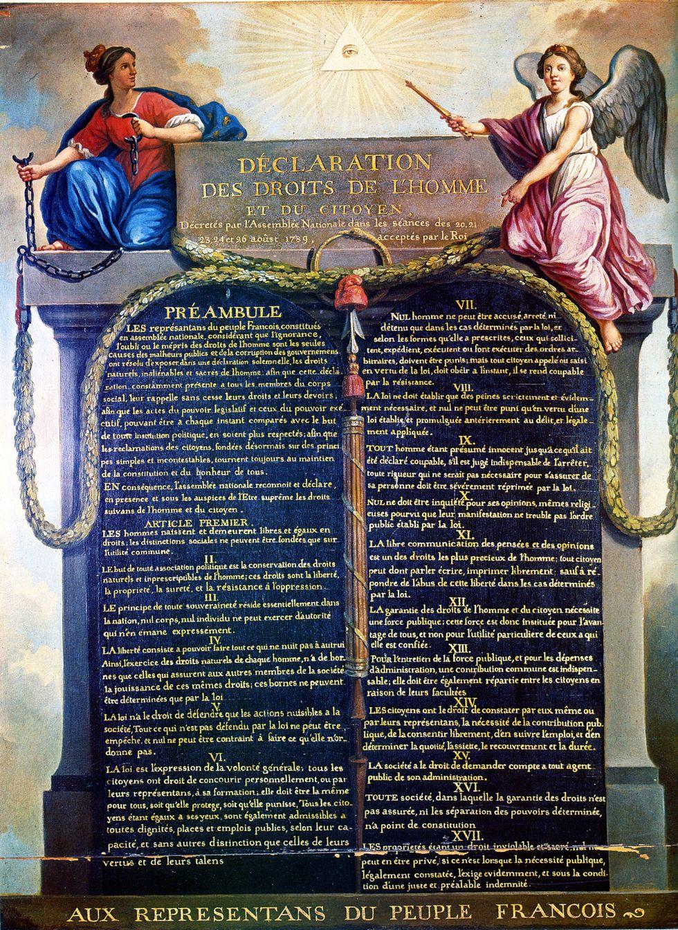 Appreciation for the Declaration Des Droits