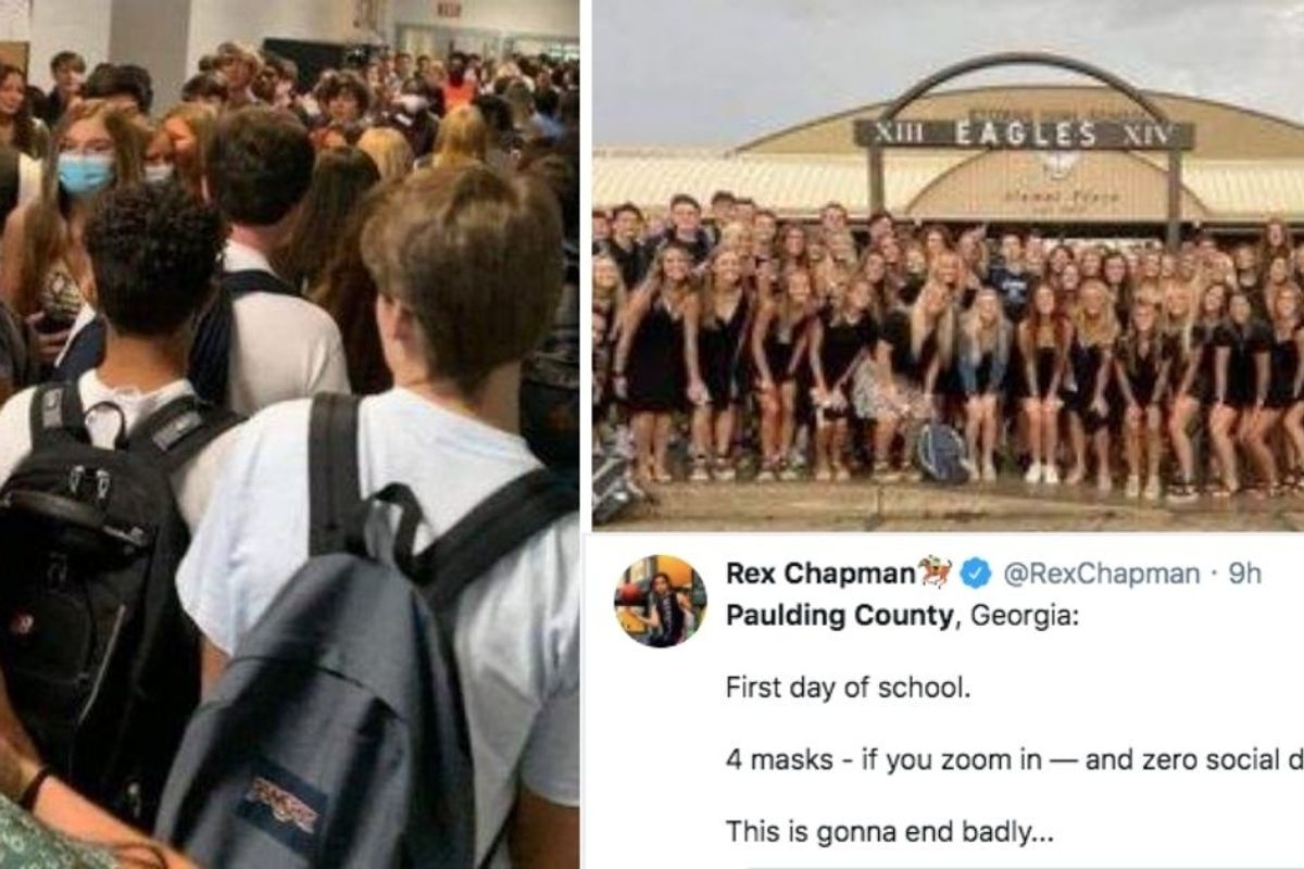These first-day-of-school photos from Georgia are exactly why teachers say they're scared