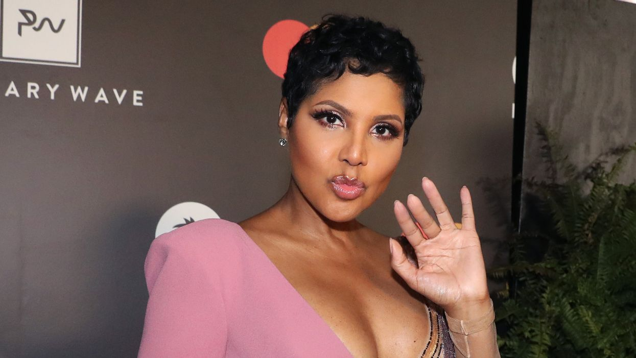 Here's Why A Vibrator Is Part Of Toni Braxton's Skincare Routine