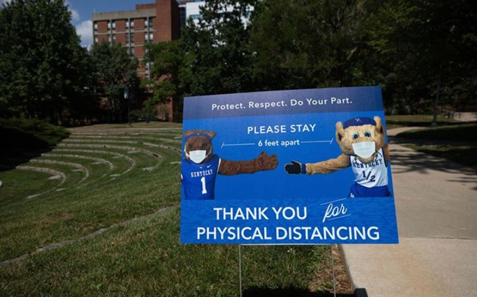 The University Of Kentucky's Twitter Account Just Mocked Students' COVID-19 Concerns
