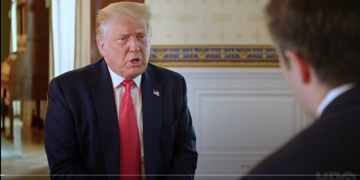 Disastrous Axios Interview Confounds Trump's Right-Wing Chorus