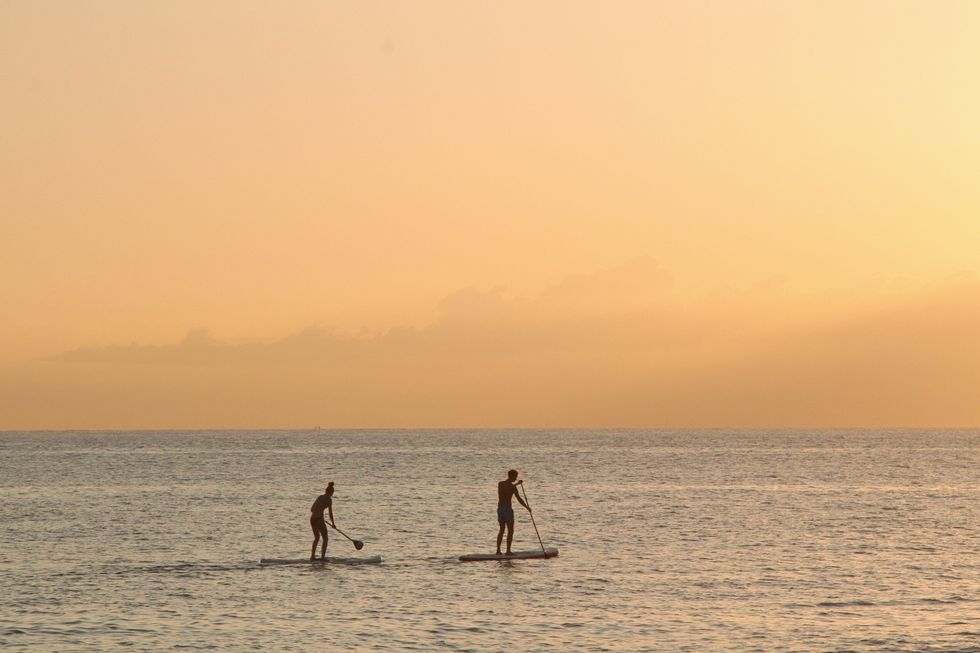 5 Reasons You Should Try Paddle-boarding