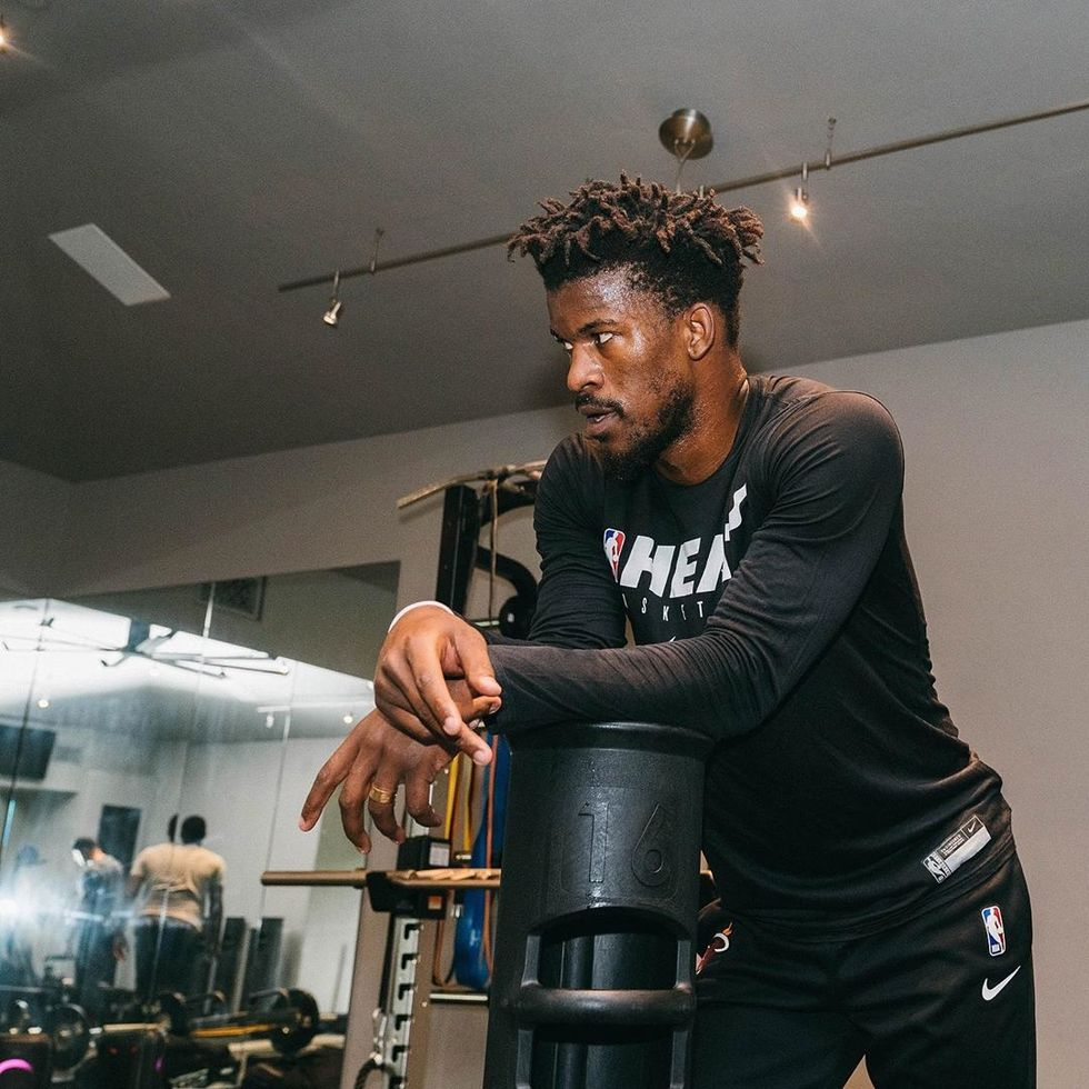 No Debate: Jimmy Butler Shouldn't Have Had To Remove His Blank Jersey In Honor Of Black Lives Matter