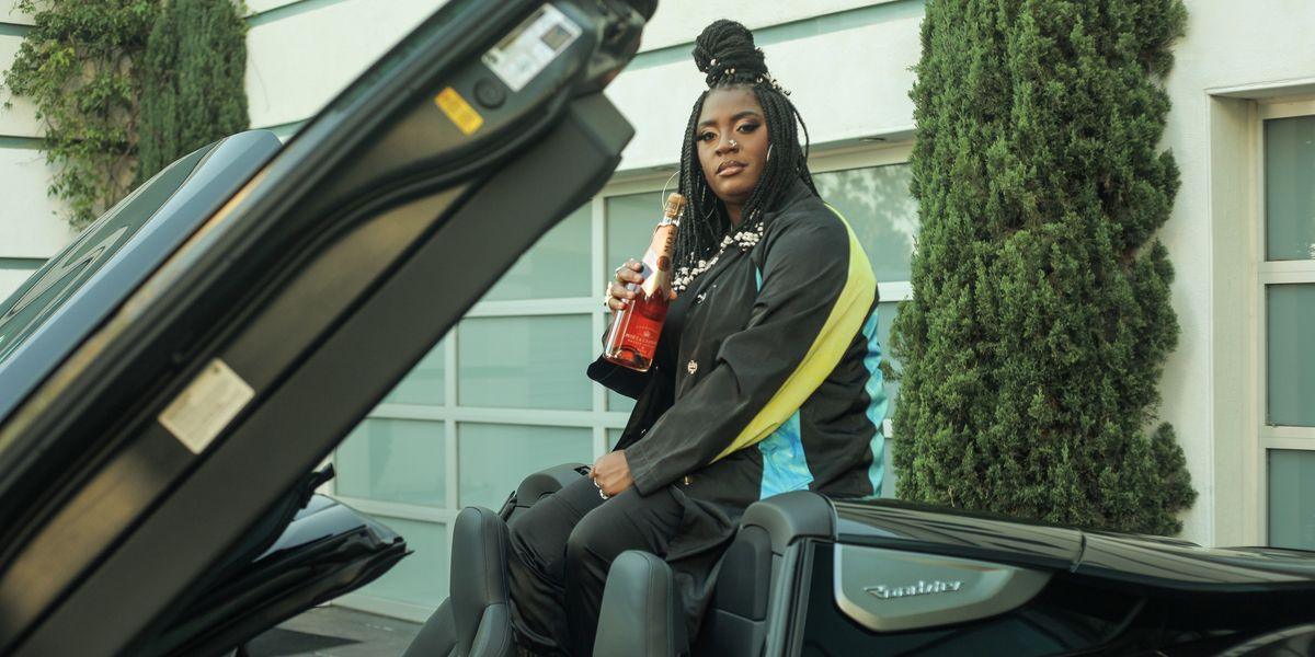 Catching Up With Kamaiyah on the Set of Her Next Music Video