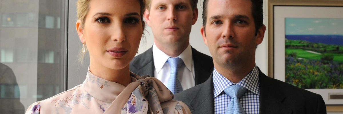 This Awkward Photo Of Don Jr., Ivanka and Eric Is Inspiring The Most Hilarious Fake Band Names