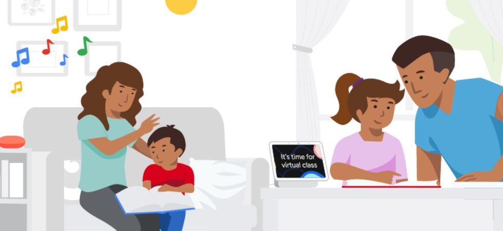 Educación en casa con el Asistente de Google