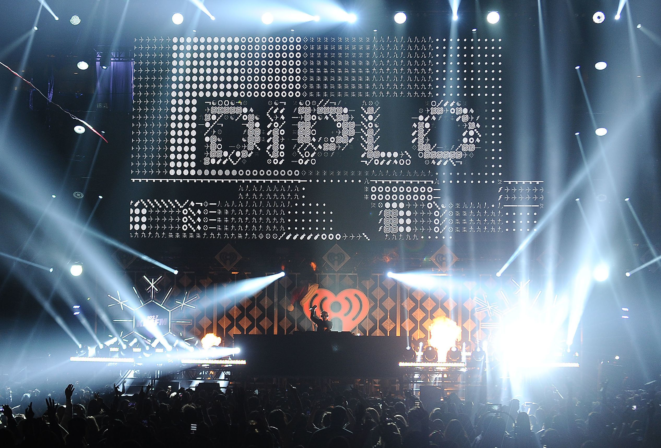 Musician Diplo performs onstage at the Jingle Ball in 2016.