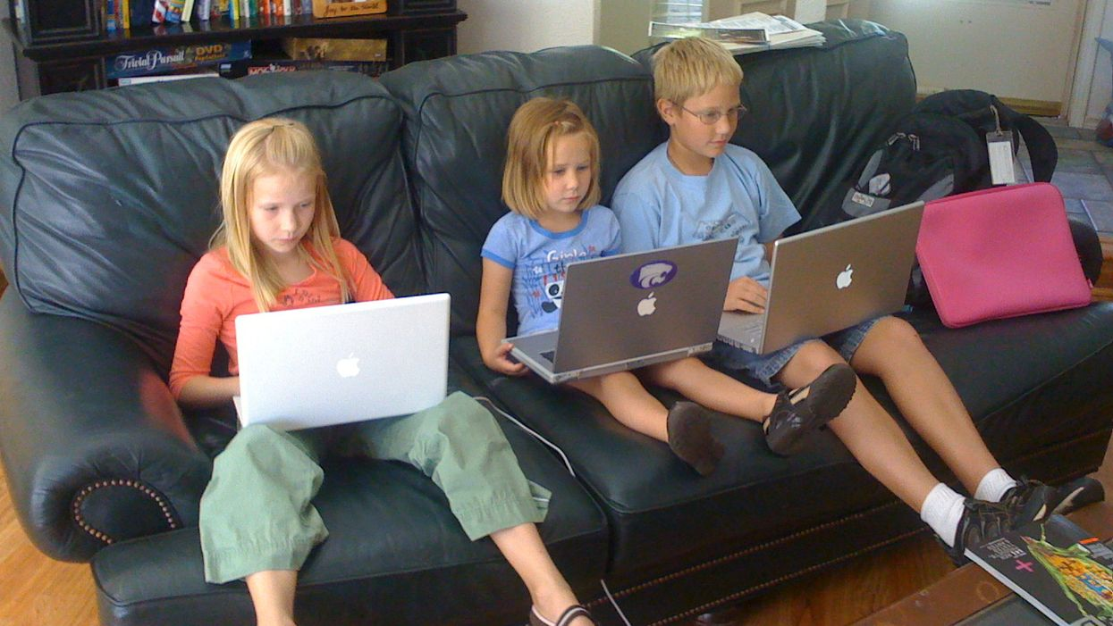 Two-thirds of parents say technology makes parenting harder