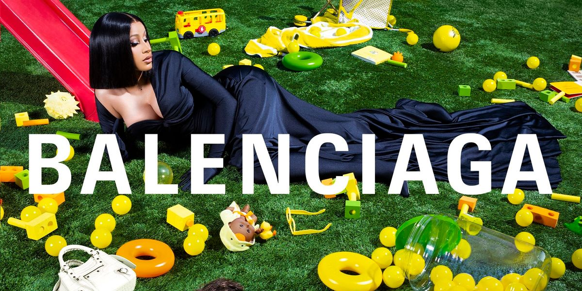 Cardi B Is the New Face of Balenciaga