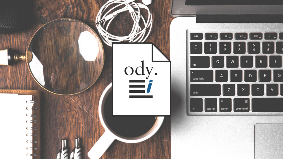 Use One Of Odyssey's Templates For Your Next Article
