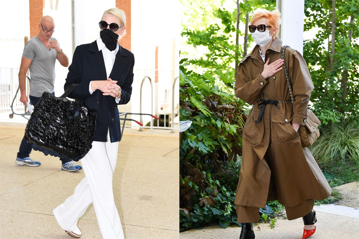 Cate Blanchett and Tilda Swinton Kick Off Venice Film Festival in Style
