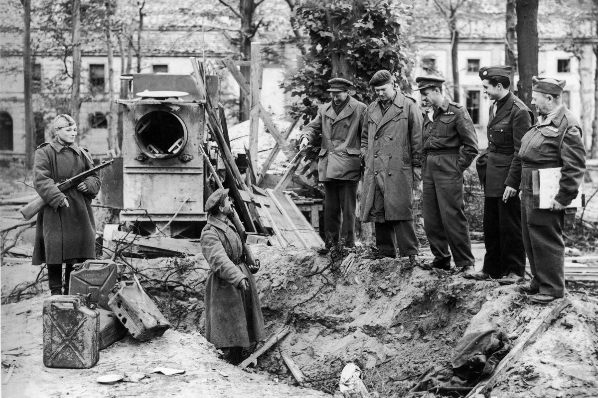 La missione segreta dei sovietici per distruggere il corpo di Hitler