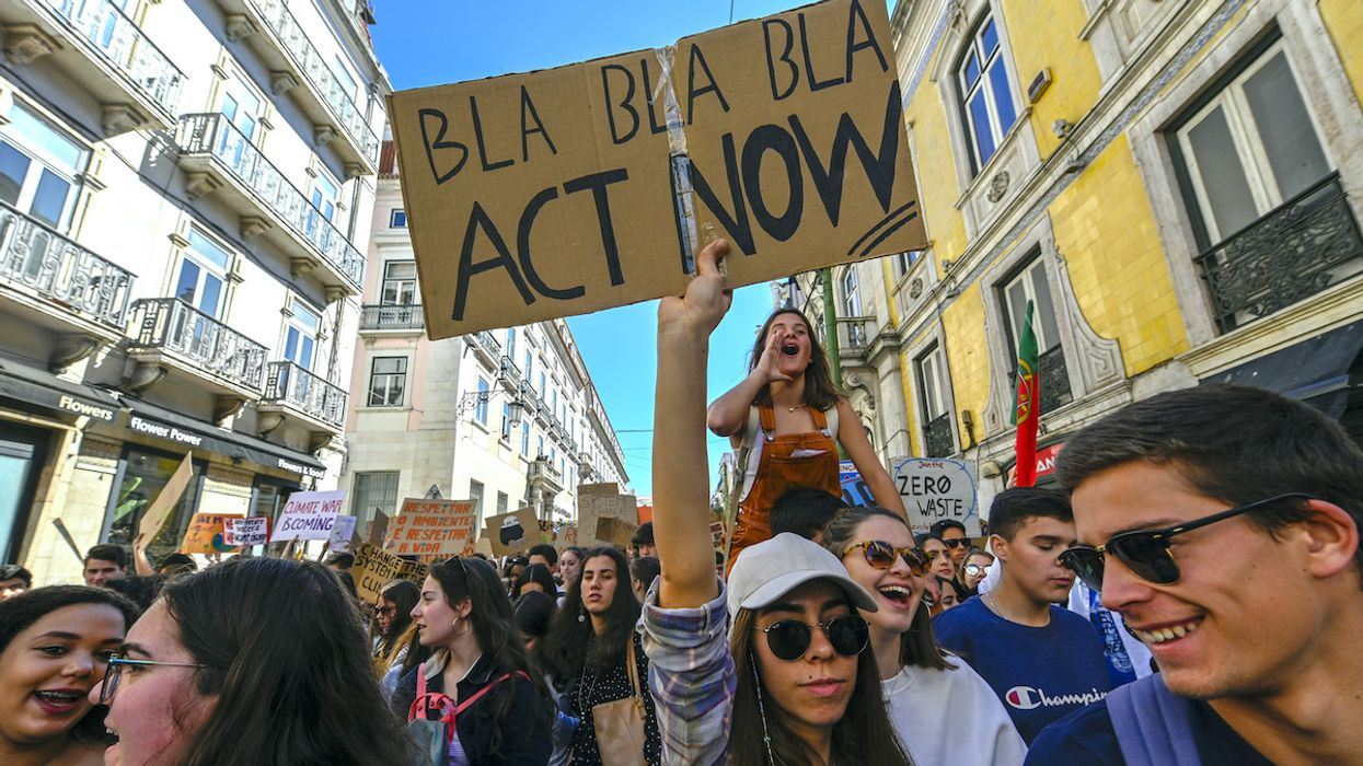 Portuguese Youth Activists Sue 33 Countries Over Climate Crisis
