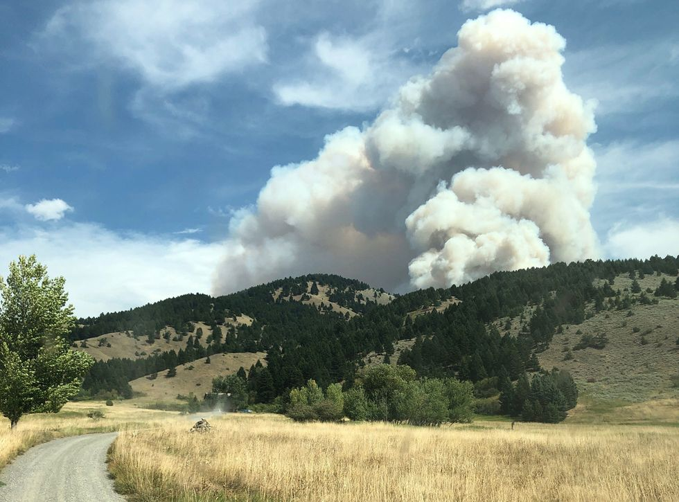Bridger Foothills Fire