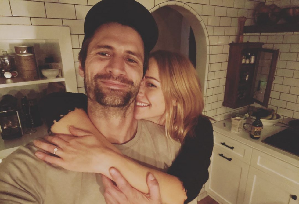 5 Things You Need To Know About Newly Engaged James Lafferty And Alexandra Park