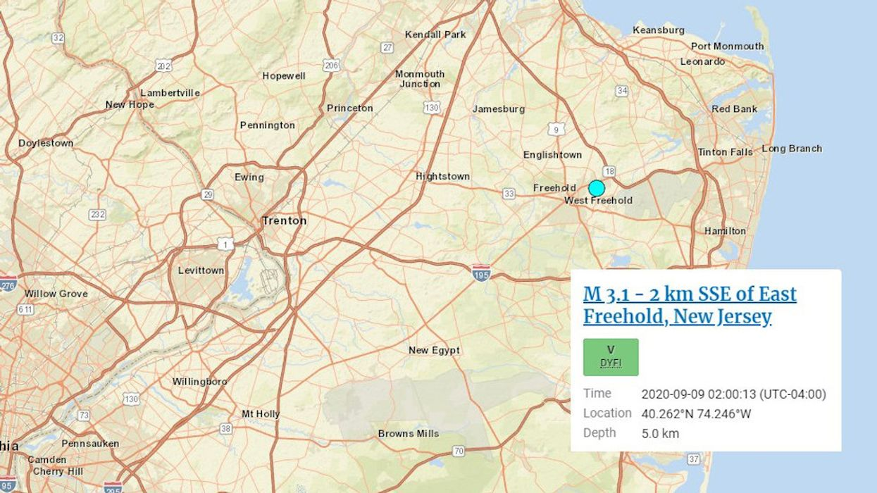 Rare Earthquake Rattles New Jersey