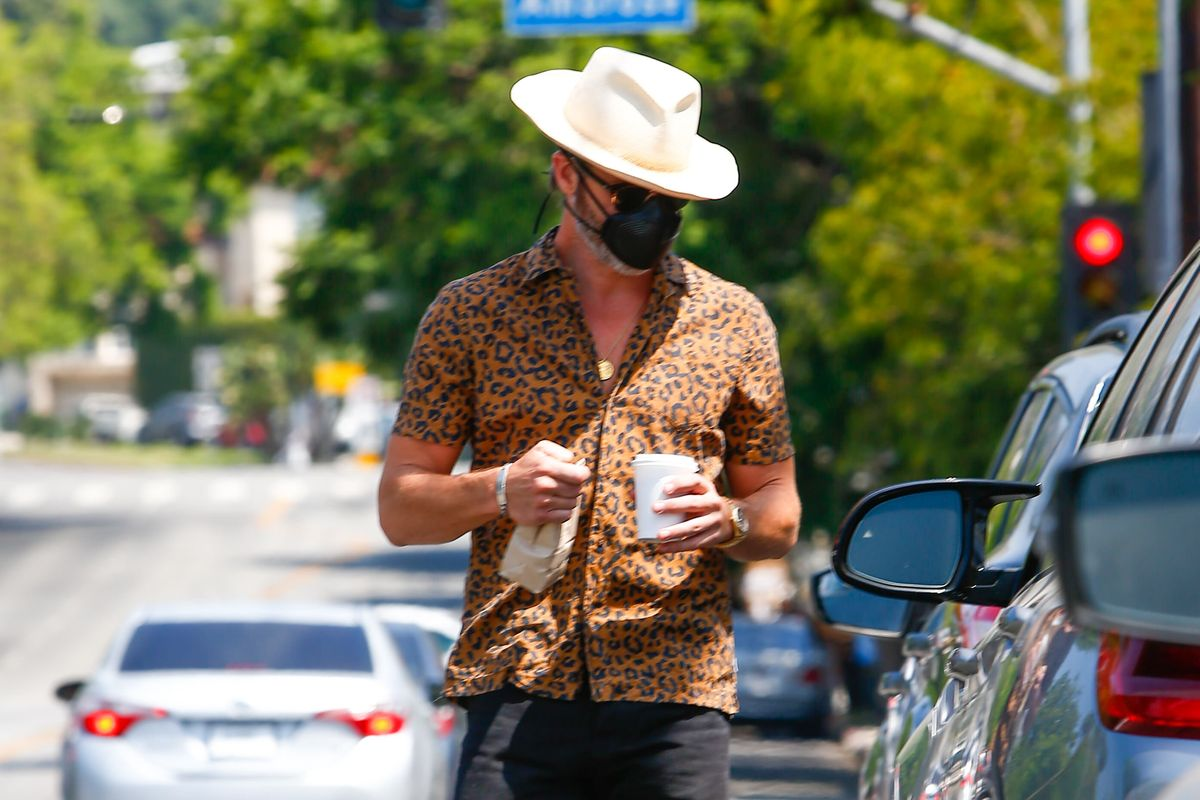 Chris Pine's Quarantine Fashions Have Fundamentally Changed Me