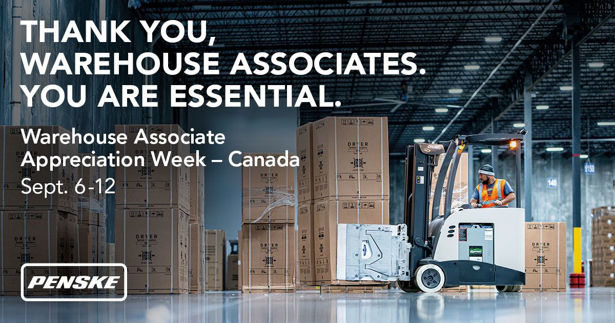 Penske Launches Warehouse Associate Appreciation Week