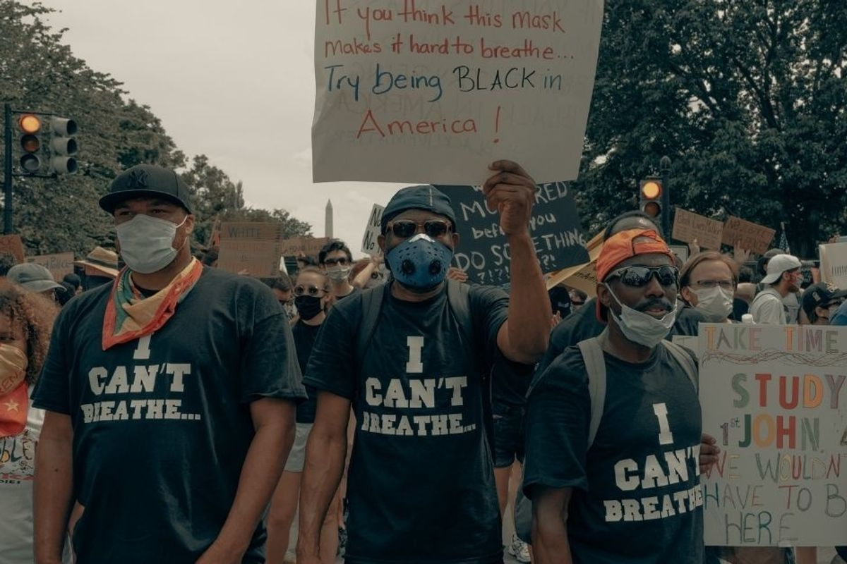 The smear of calling BLM protests 'violent' doesn't even come close to matching the reality