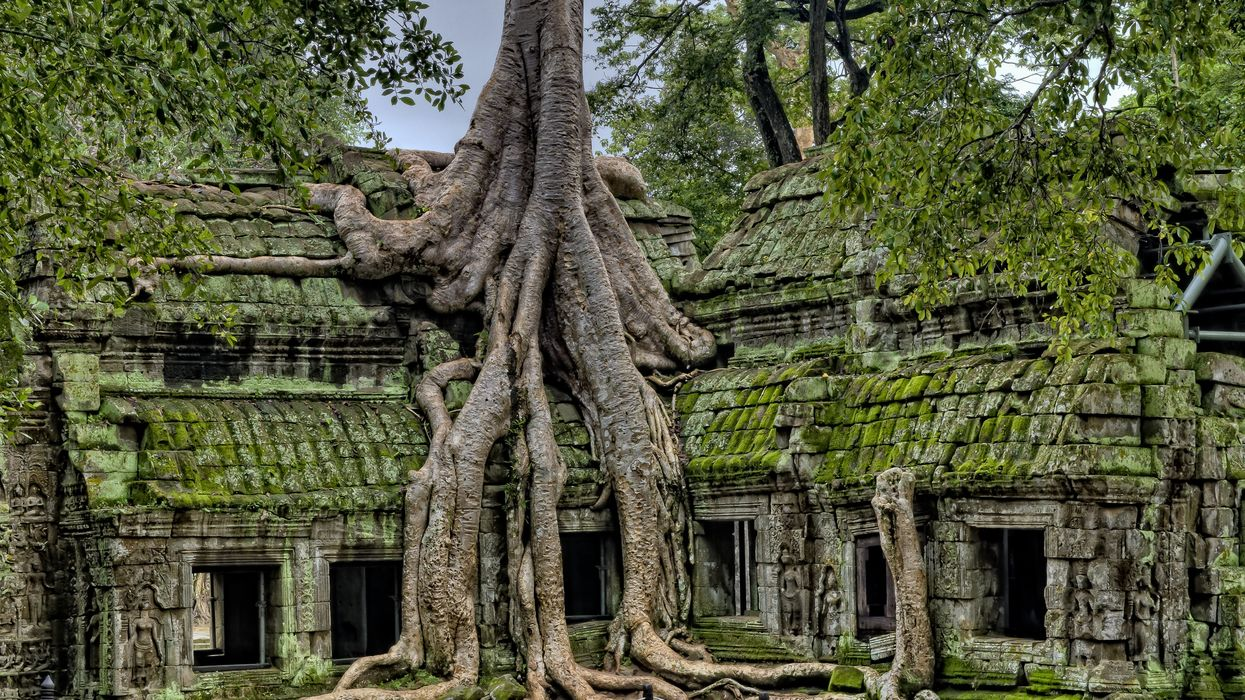 The rise and fall of Angkor Wat