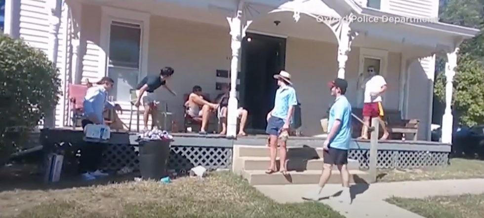 COVID-19 Hasn't Stopped Miami U Students From Partying, And There's Body Cam Footage To Prove It