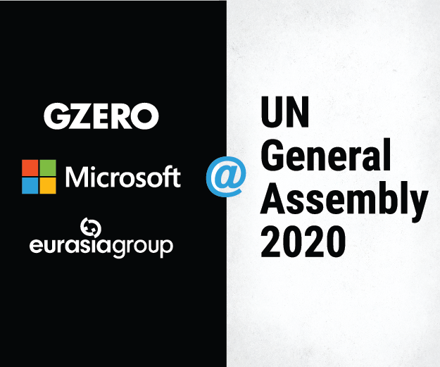 GZERO, Microsoft & Eurasia Group @ UN General Assembly 2020