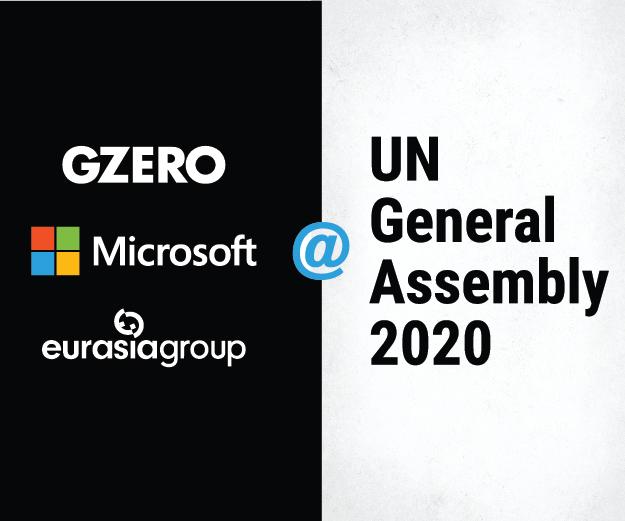 GZERO, Microsoft & Eurasia Group @ UN General Assembly 2020