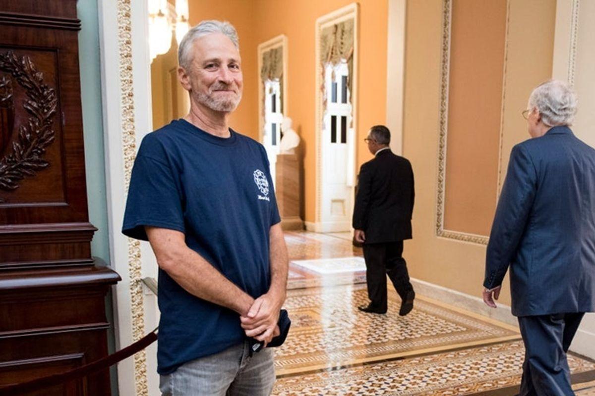 A new documentary follows Jon Stewart's relentless, decade-long fight to help 9/11 first responders