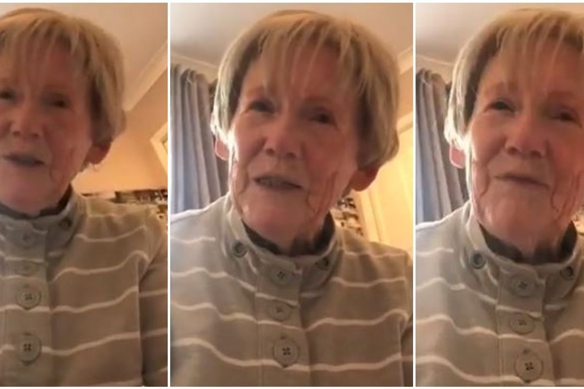An adorable grandma casually came out to her granddaughter while talking about relationships