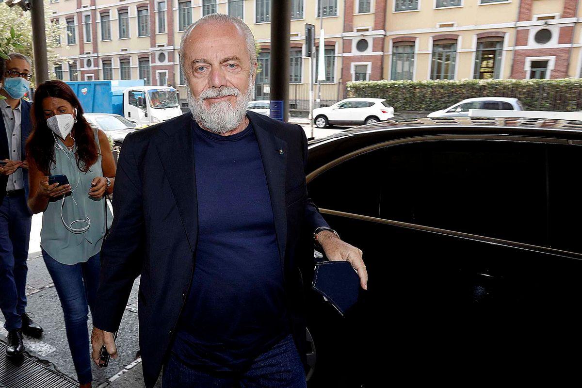 De Laurentiis positivo e il calcio trema. I vertici della Serie A vanno in quarantena