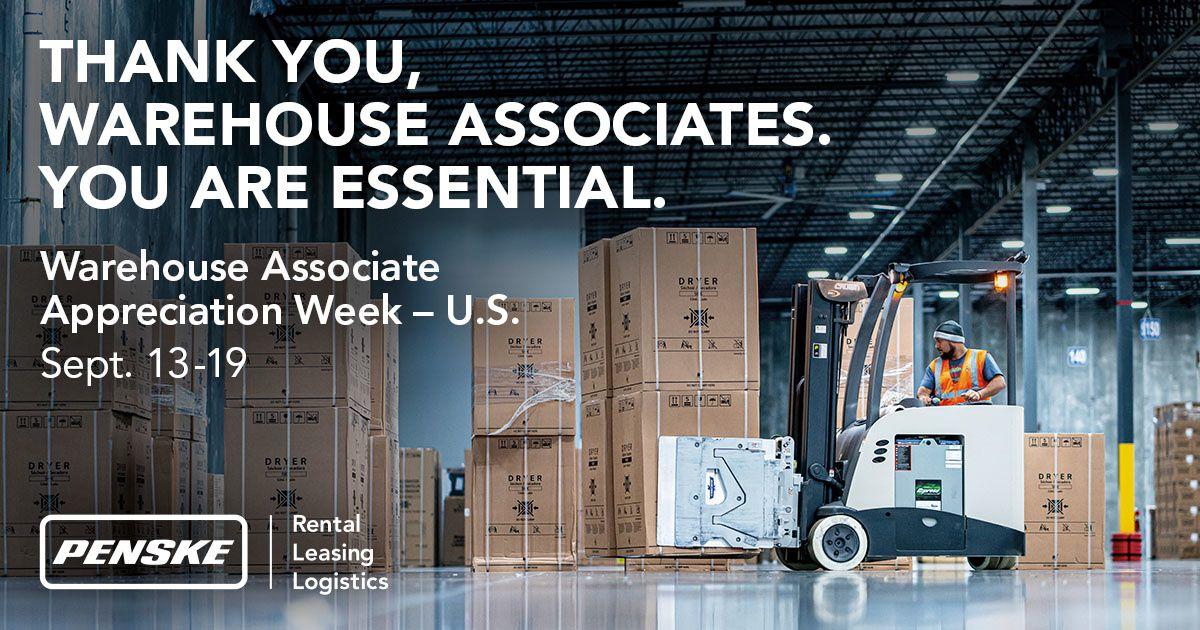 Penske Launches U.S. Warehouse Associate Appreciation Week