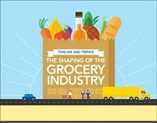 The Shaping of the Grocery Industry Cover