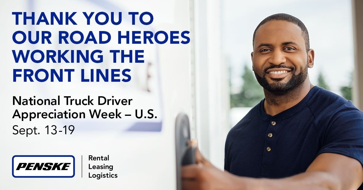 Penske Thanks U.S. Drivers During National Truck Driver Appreciation Week