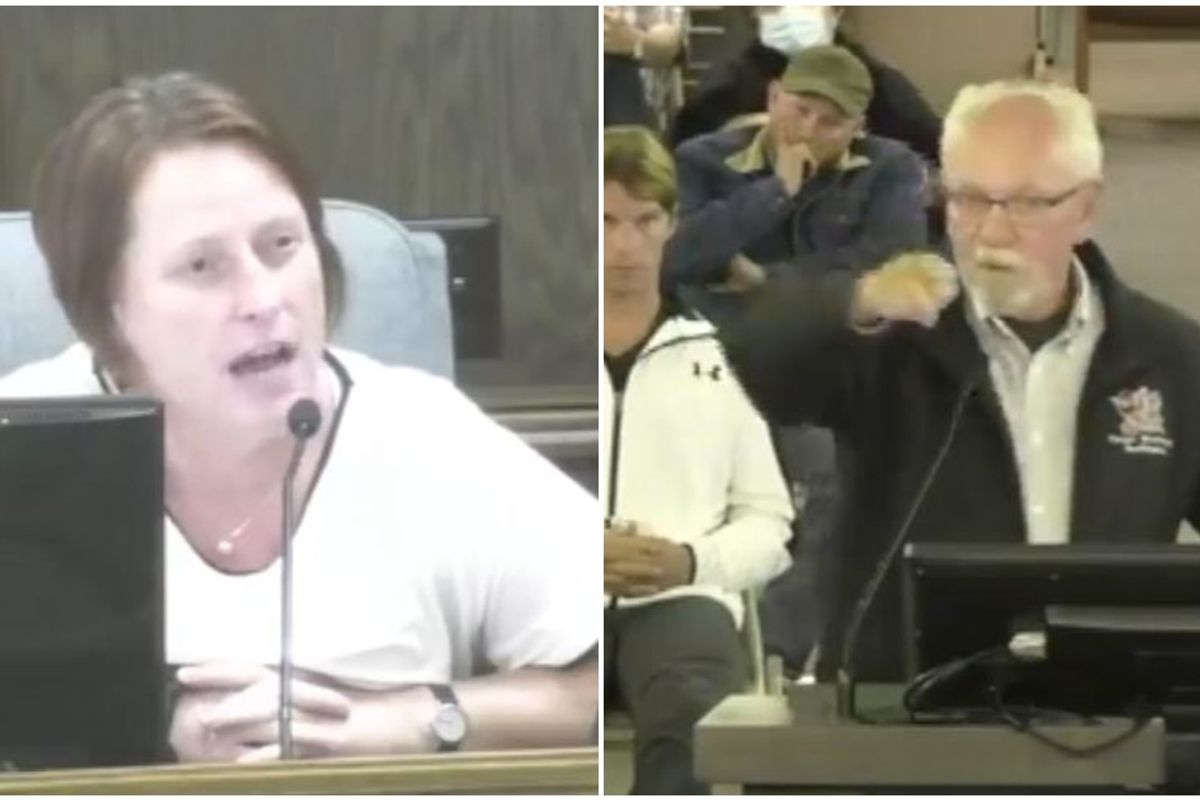Councilwoman comes out to her constituent complaining about Pride flags in an unforgettable exchange