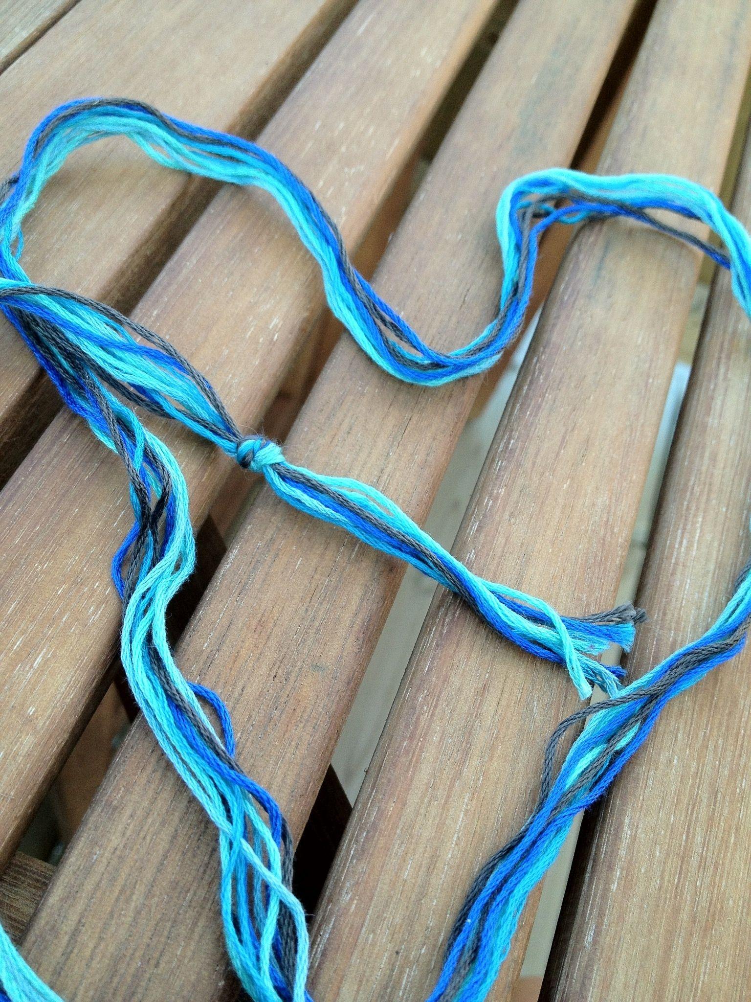 How To Make A Chevron Friendship Bracelet B C Guides