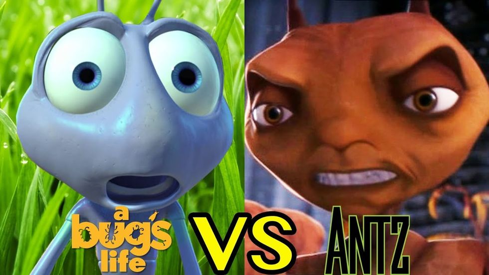 Do Animated Films Copy Each Other?