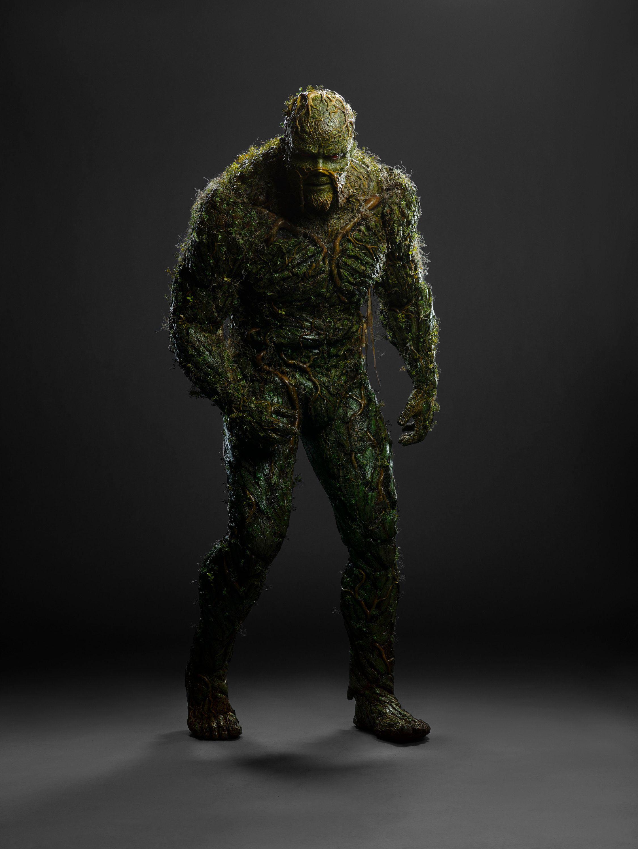 \u200bDerek Mears as Swamp Thing