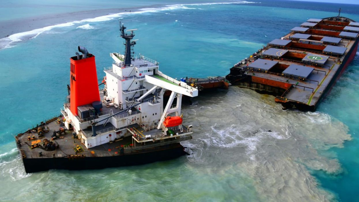 Onboard Birthday Party May Have Caused Mauritius Oil Spill