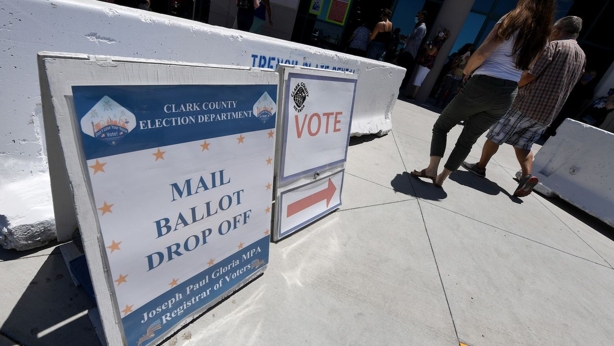 Vermont will mail ballots to every voter in the state — whether they want them or not. The ballots can be returned by mail, drop box, or in person.