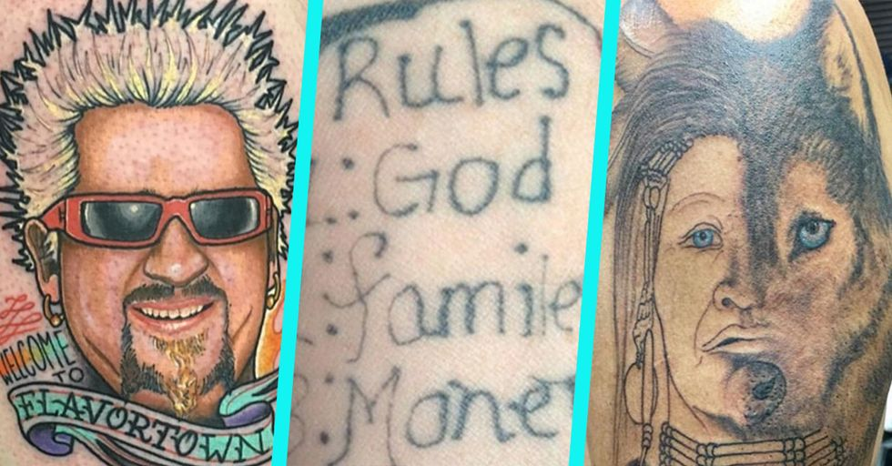 30 Terrible Tattoos That Will Just Make You Seriously Wonder What Is Going on With People