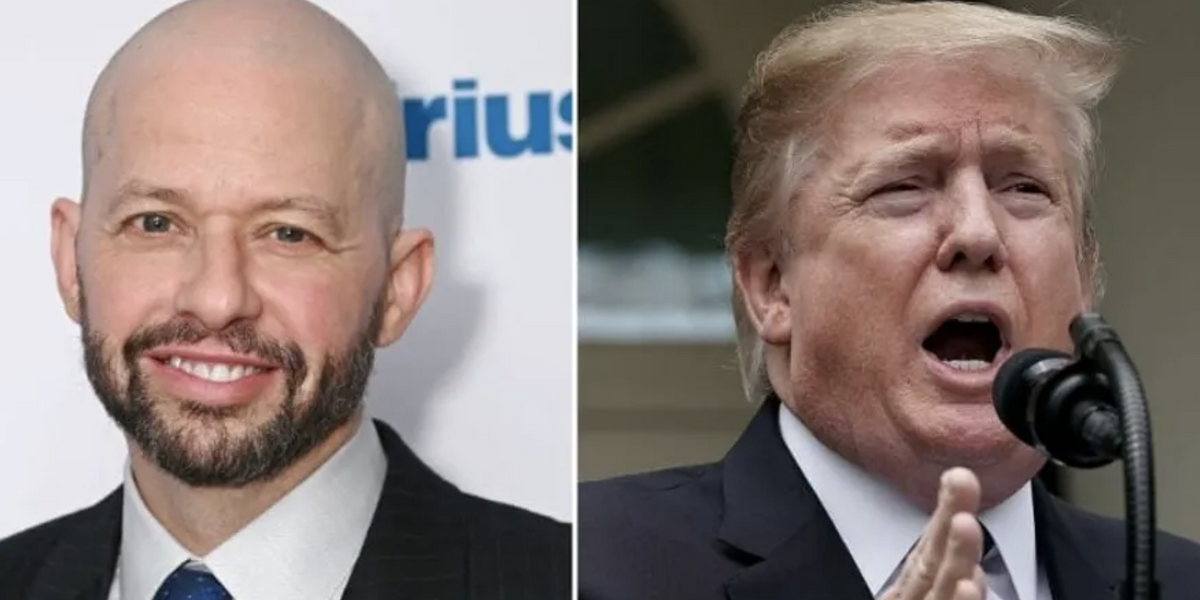 Jon Cryer Hilariously Trolls Trump After Trump Claimed He Saved 'Two, Maybe Two and a Half Lives'