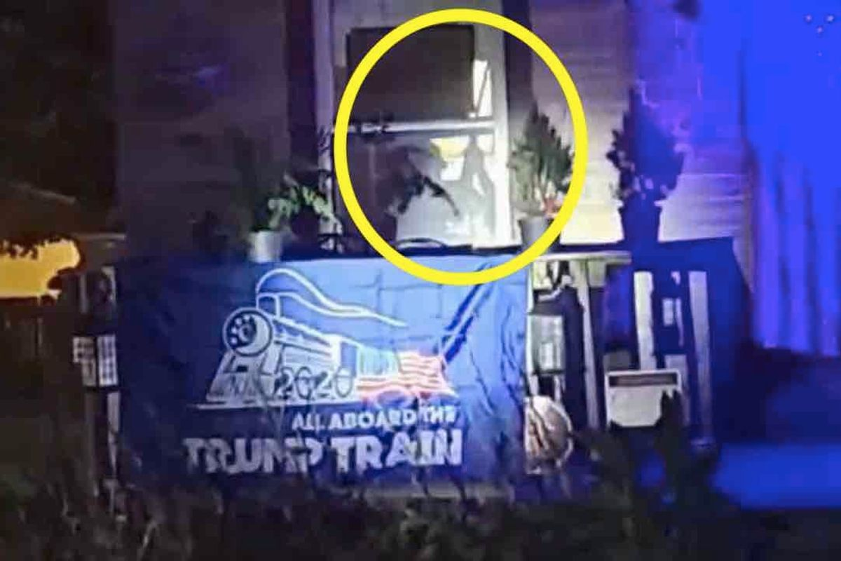 Black Lives Matter stages 'protest party' in front of 'racist' man's home. He pulls out a gun — and officers arrive to take him away.
