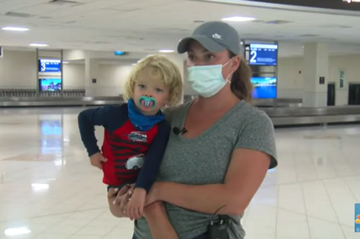 Mother and 2-year-old son allegedly booted from Southwest flight after the toddler ate snacks without a mask on