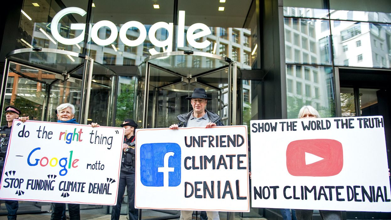 Google and Facebook Announce New Climate Commitments