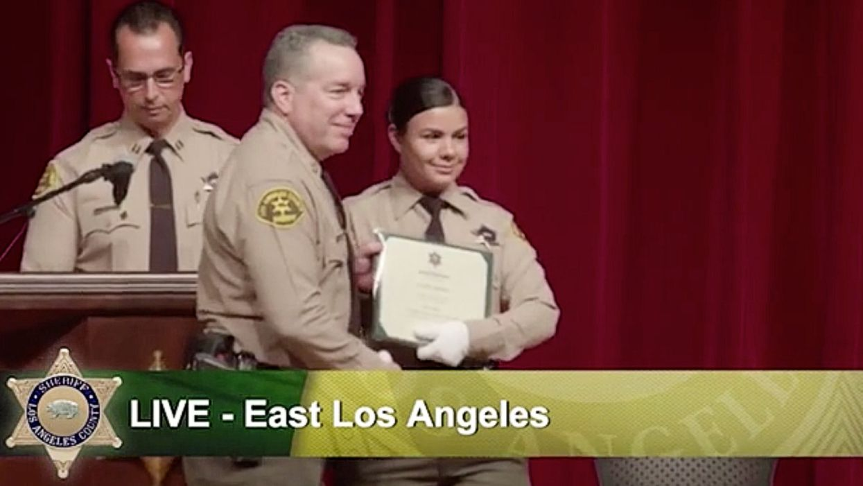 Hero deputy shot through the jaw in Los Angeles ambush is a rookie officer and a former librarian